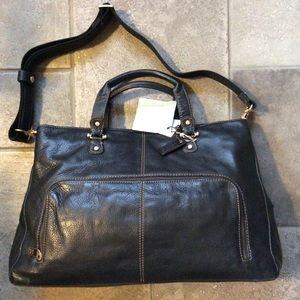 NWT Secretary business leather bag padded